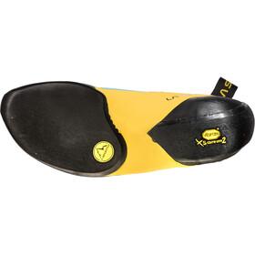 La Sportiva Futura Climbing Shoes Men Blue/Yellow